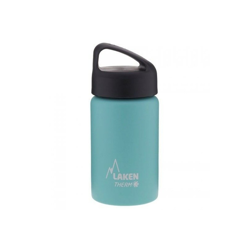 St. steel thermo bottle 18/8 - 0,35L - Turquoise